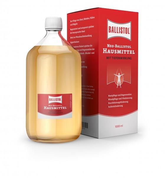 Neo Ballistol Hausmittel 1000ml - Desinfiziert, lindert und entspannt