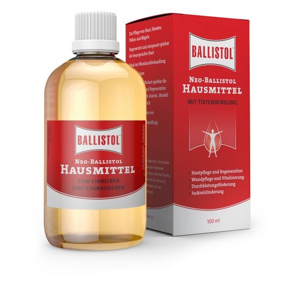 Neo Ballistol Hausmittel 100 ml - Desinfiziert, lindert und entspannt