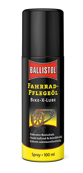 Ballistol Bike-X-Lube Fahrrad-Pflegeöl Spray 100ml