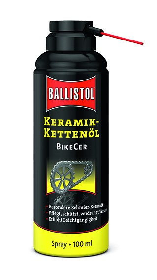 Ballistol BikeCer Keramik-Kettenöl Spray 100ml