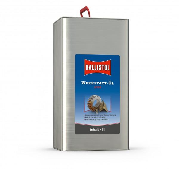 Ballistol Usta Werkstatt-Öl flüssig 5 Liter Kanister