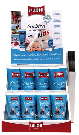Ballistol Stichfrei KIDS - Verkaufsdisplay