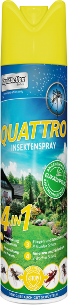 RapidAction Insektenspray QUATTRO 600ml