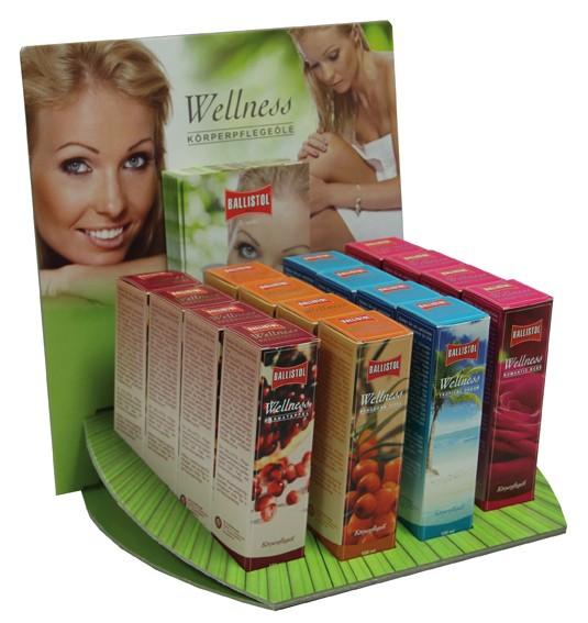 Ballistol Wellness Körperpflegeöle - Verkaufsdisplay
