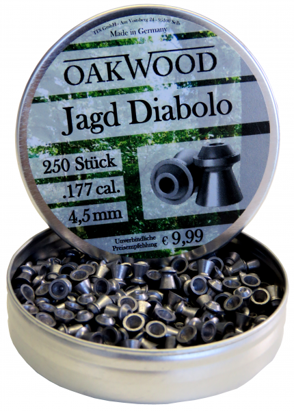 OAKWOOD Diabolos Jagd Hohlspitz 4,5mm