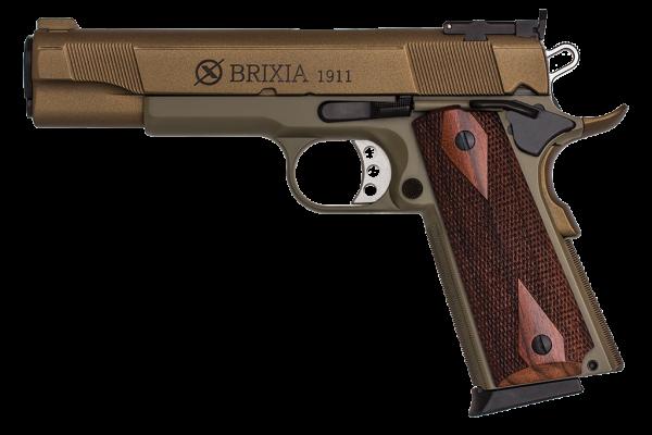 """Brixia Pistole 1911 Modell Ceramic """"Green Bronze"""""""