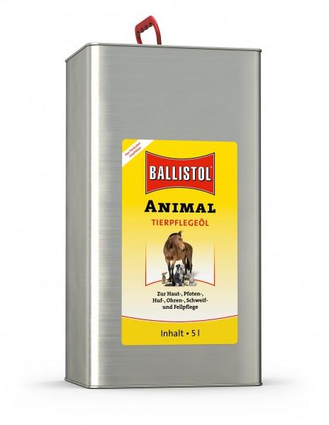 Ballistol Tierpflege-Öl Animal - sanfte Tierpflege 5 Liter Kanister