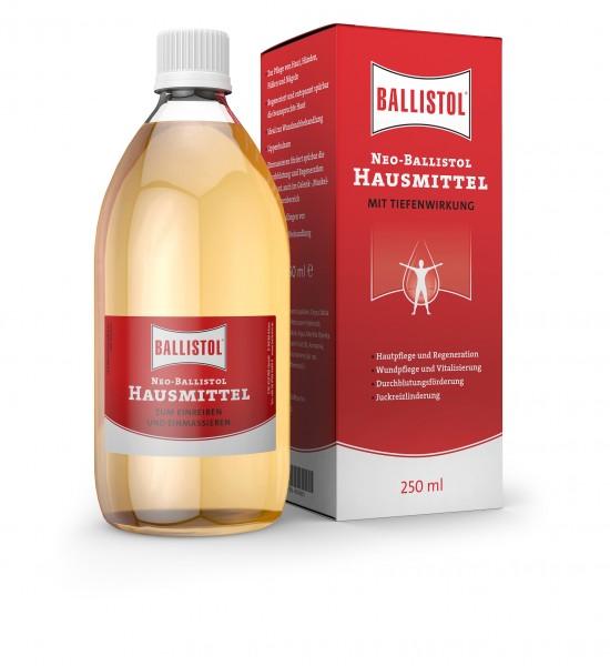 Neo Ballistol Hausmittel 250ml - Desinfiziert, lindert und entspannt