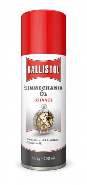 Ballistol Feinmechanik-Öl Ustanol Spray 200ml