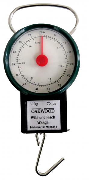 OAKWOOD Wild- und Fischwaage 30kg