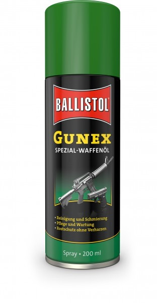 Ballistol Gunex Spezial Waffenöl Spray 200ml Dose